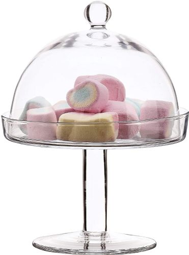 Cupcake Stand & Dome 19cm